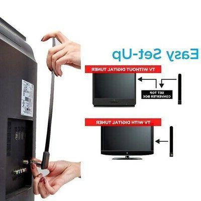 NEW TV Key 1080p TV Digital Indoor Antenna Ditch