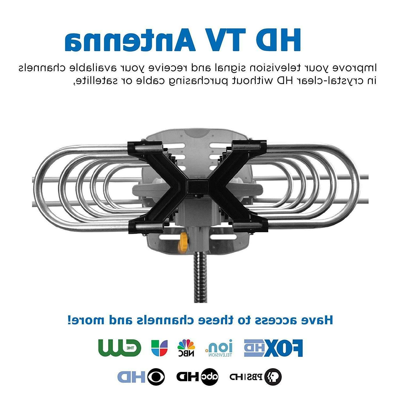 Vansky Outdoor Motorized 360 Degree Rotation HD Antenna