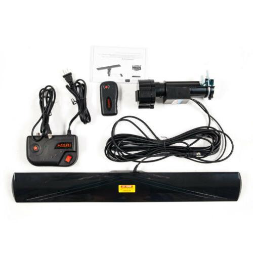 Leadzm Outdoor 150 Amplified Antenna Digital HD TV 17-23dB UHF/VHF/FM 350°