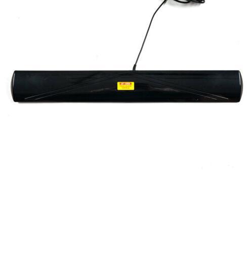 Leadzm Amplified Digital TV UHF/VHF/FM 350°