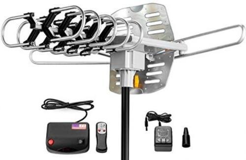 outdoor amplified antenna 150 miles range 360