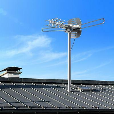 Outdoor Amplified TV Antenna Digital Support