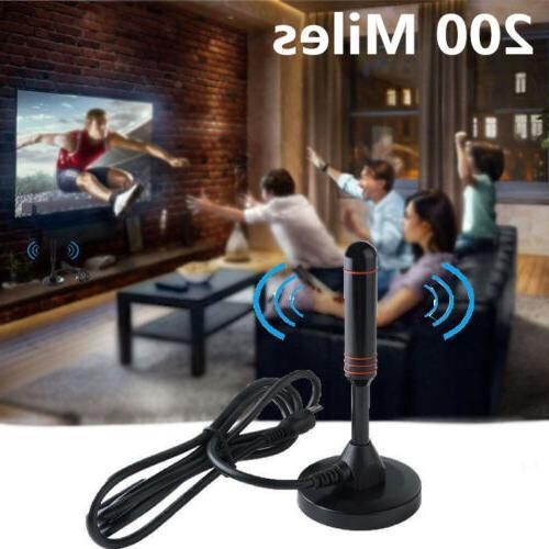 indoor digital tv antenna 200 miles range