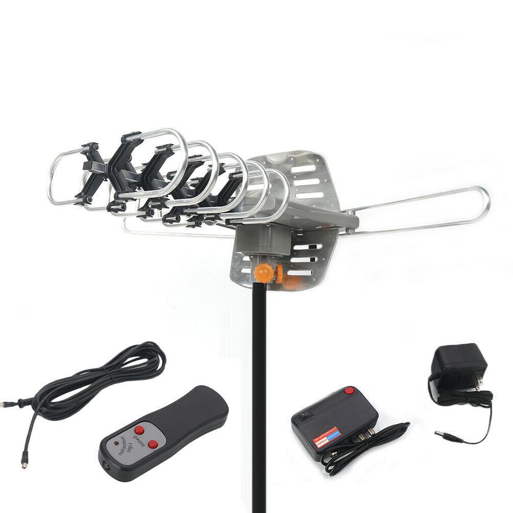 Outdoor TV Amplified HDTV 1080P V/U Rotation Miles