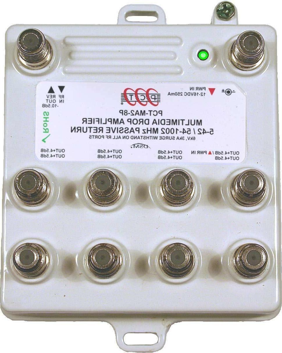 PCT MA28PN Passive Return 8-Ports