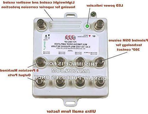 PCT MA28PN Passive Return Amp 8-Ports