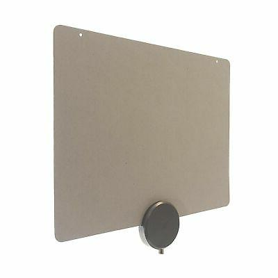 Mohu ReLeaf Antenna, Made Materials, HDTV, Mile Range