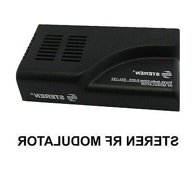 rf modulator 203 102 stereo audio video