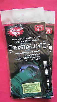 SEEN ON TV 2 Internal Cell Mobile Phone Antenna Signal BOOST