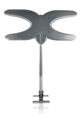 Mohu TV Antenna, Amplified, Mile Range, Lightweight,