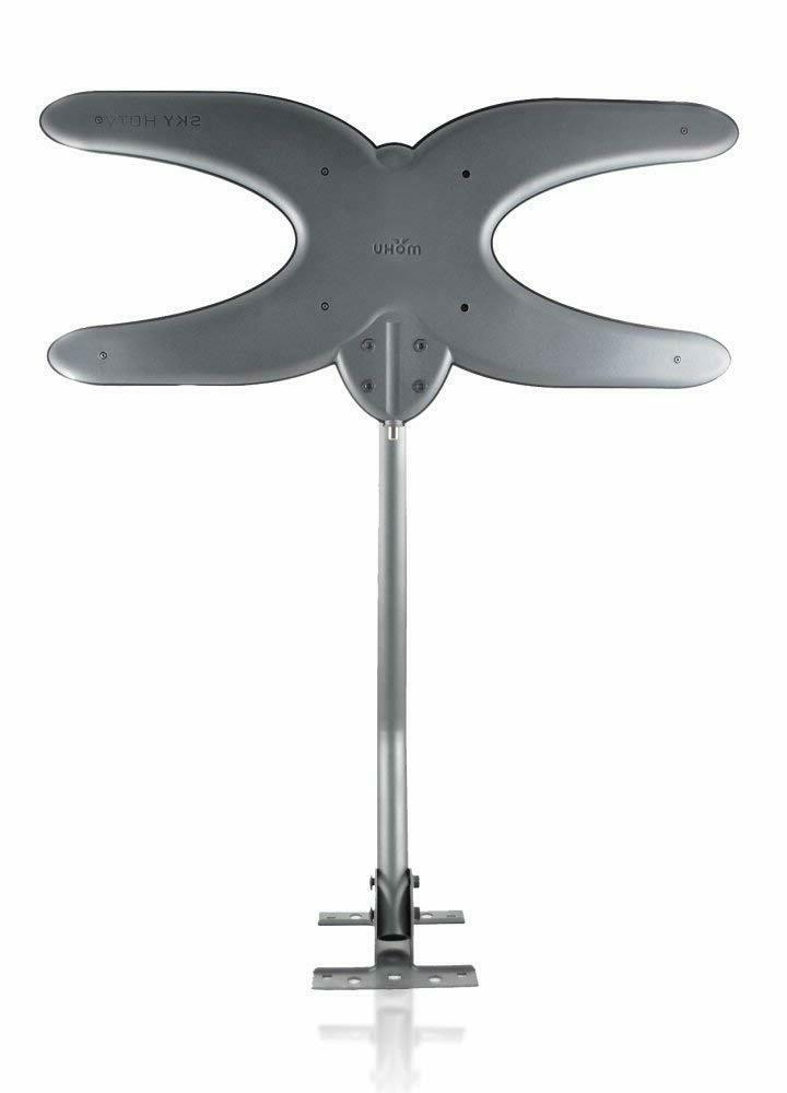 sky hdtv 60 mile range tv antenna