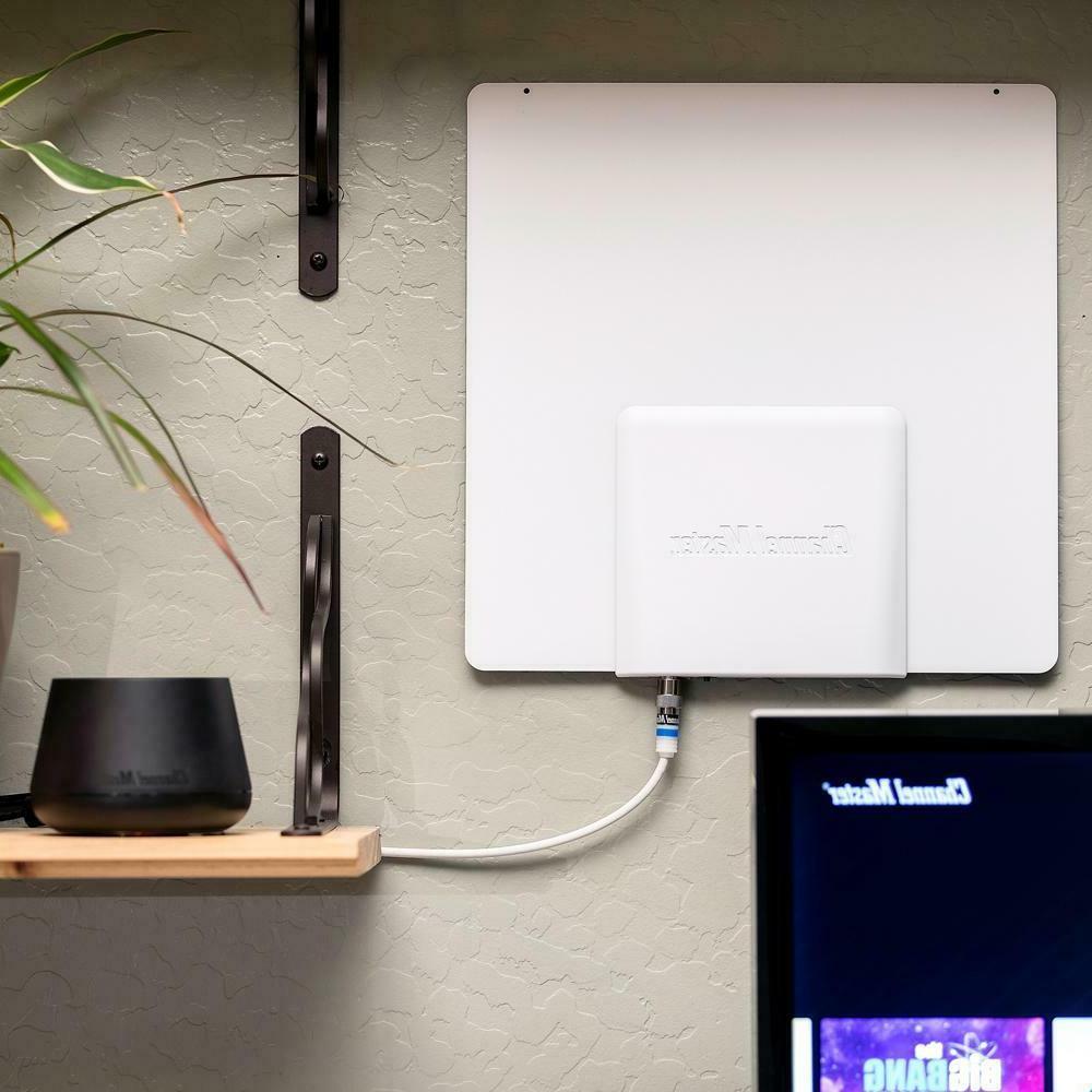 smartenna amplified indoor tv antenna active steering