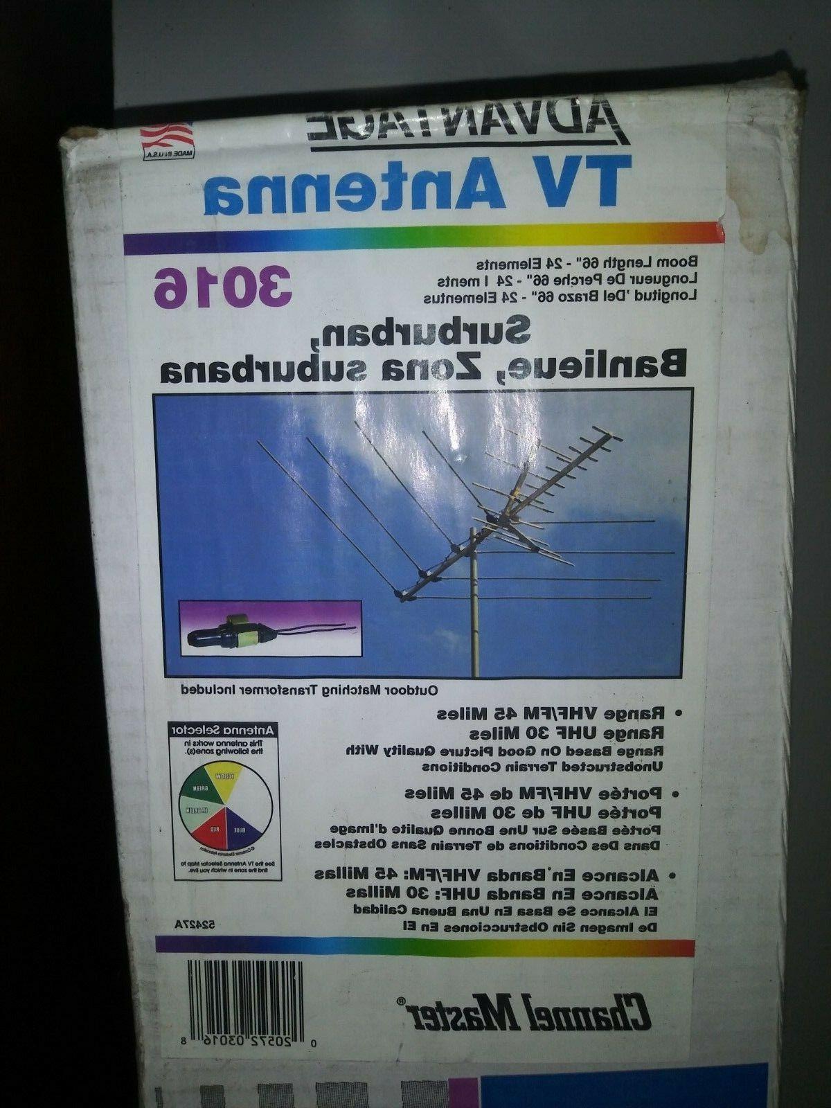 suburban advantage tv antenna cm3016