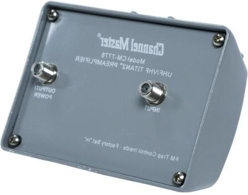 Channel TV Booster Digital VHF UHF