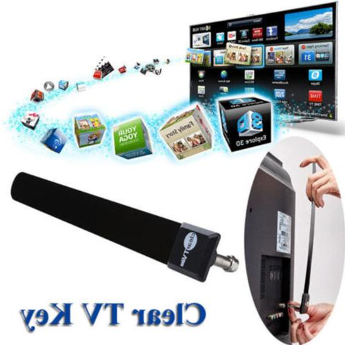 2*Clear TV Key HDTV Free Stick Indoor Digital Antenna Cable
