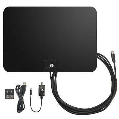 1byone TV 50 Mile Range Amplified Antenna BY..