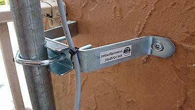 "TV mount bracket 10"" wide 4.75 inch TV"