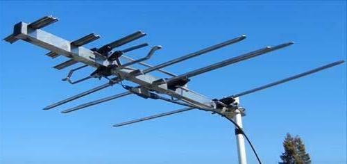 TV RCA Outdoor HD Antenna w/ 150 Mile Range (70+