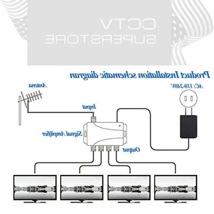 TV Signal Amplifier 4 Video