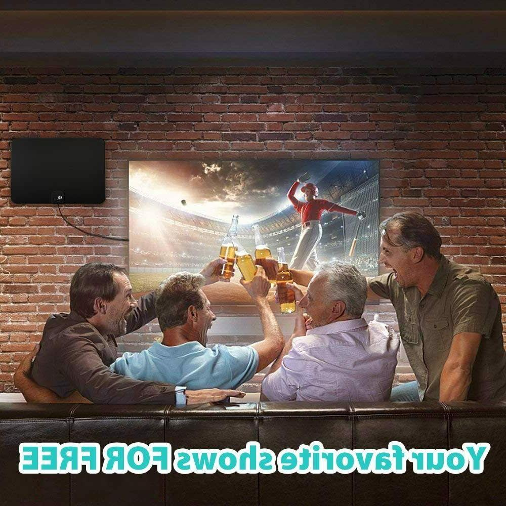 TV HDTV Indoor Antenna 4K 1080P