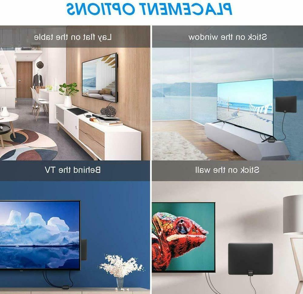 TV Upgraded HDTV Indoor Amplified Antenna 250 1080P