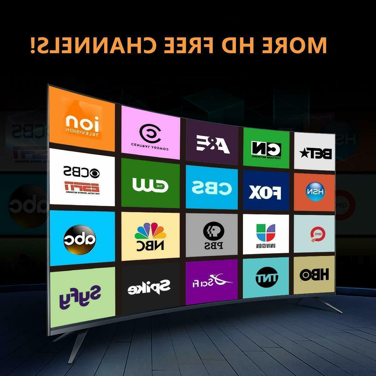 TV Antenna Indoor Amplified Digital TV Antenna Miles 4K 1080P
