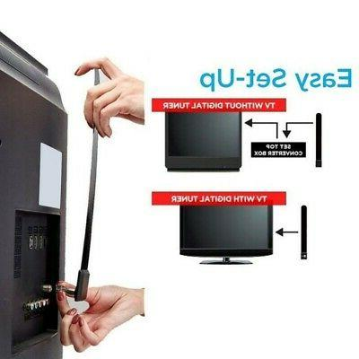 ultra thin 1080p hd antena hdtv digital