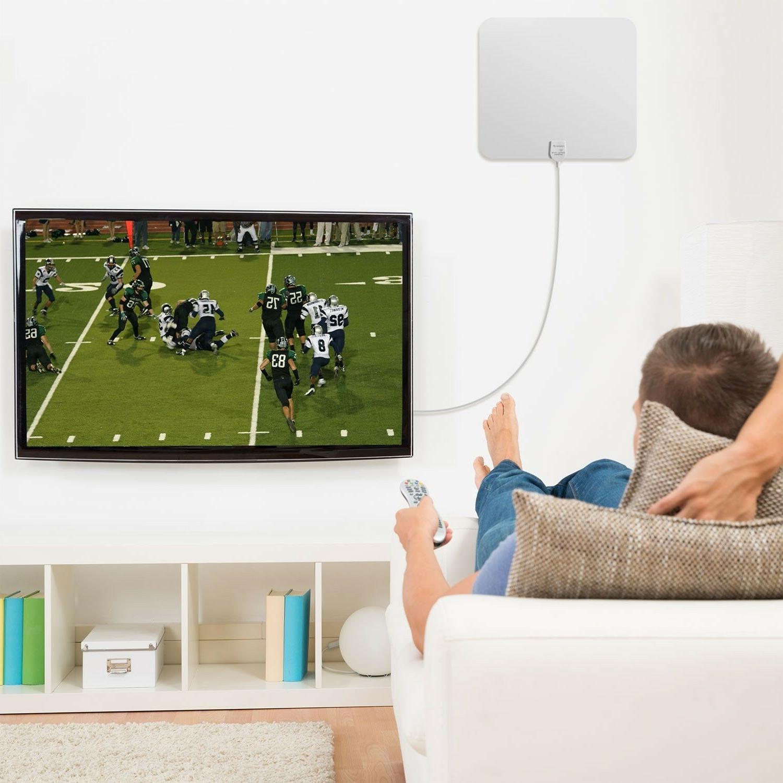Fosmon Indoor HDTV Amplified HD TV 16FT Coax
