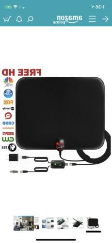 U Must Have Upgraded 2018 Digital HDTV Antenna Up To 80 Mile