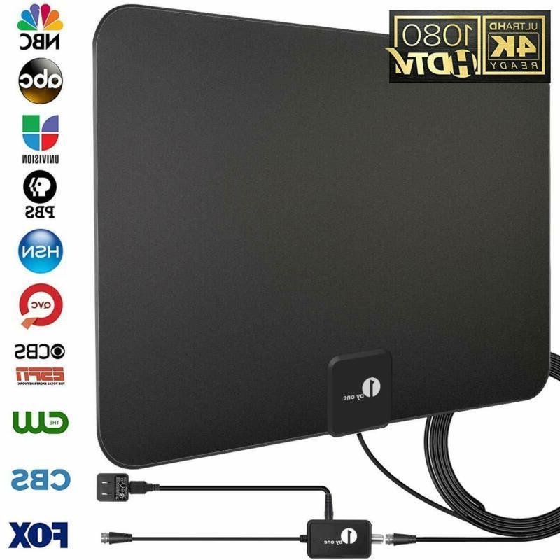 upgraded 2019 digital amplified indoor hd tv