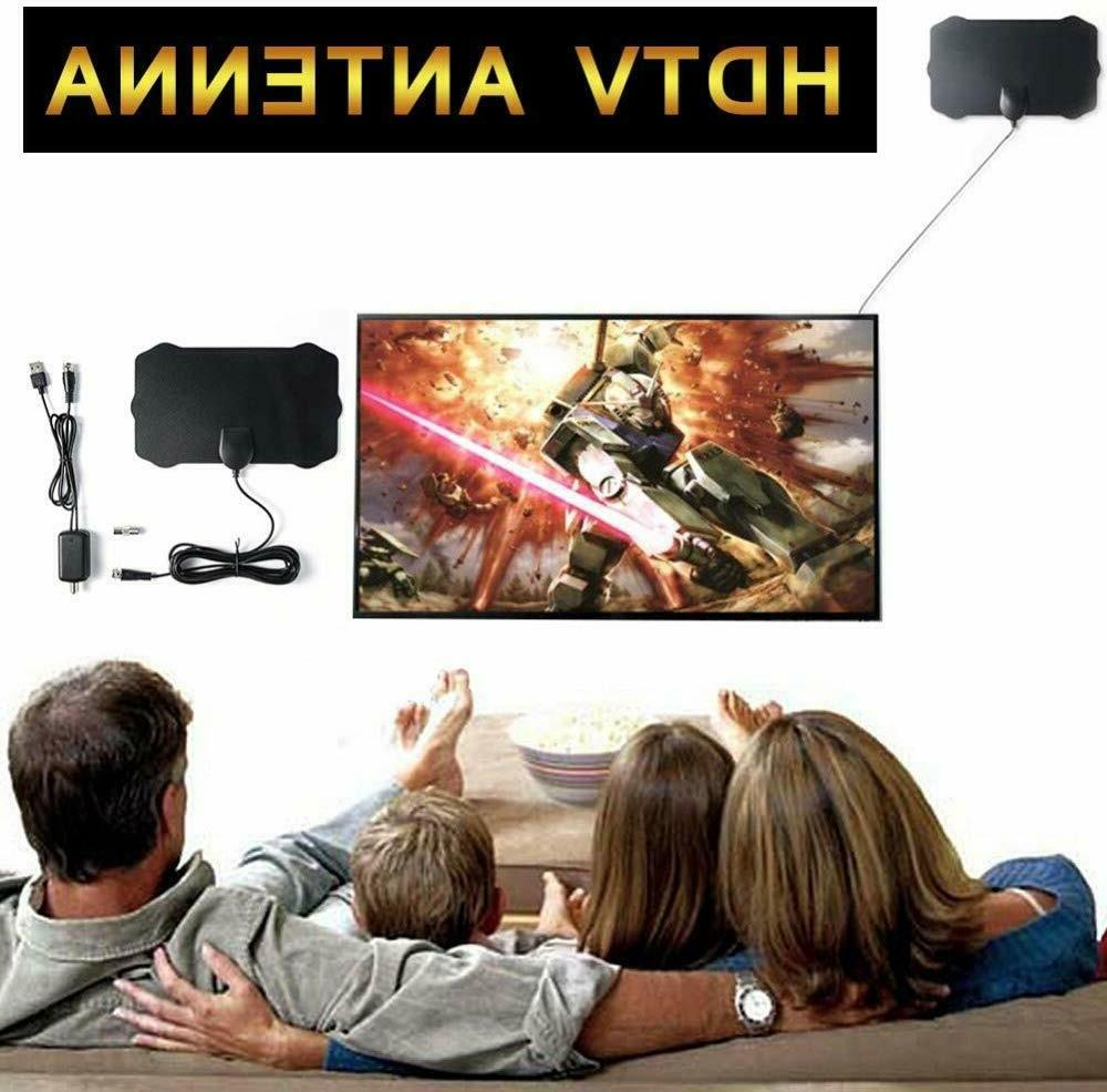 Upgraded TV with Amplifier Free Digital HDTV 4K Indoor