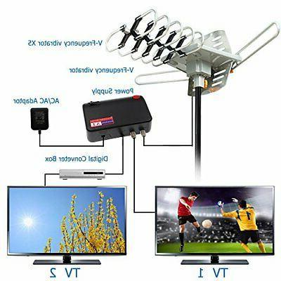 Vansky Outdoor 150 Mile Digital Amplified HDTV
