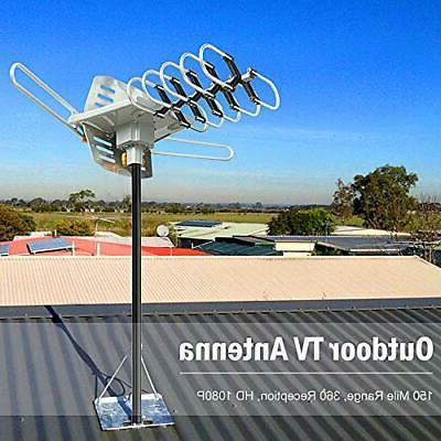 Vansky Outdoor TV 150 Amplified HDTV Antenna