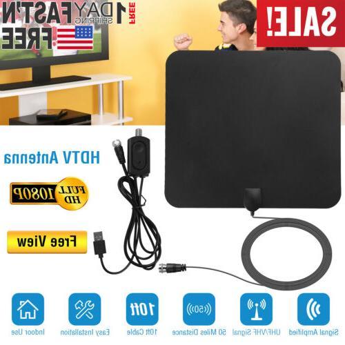 ViewTV 50 Miles Range Flat HD Digital Indoor Amplified TV An