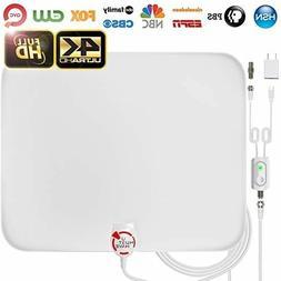 Amplified HD Digital TV Antenna Long 65-85 Miles Range –