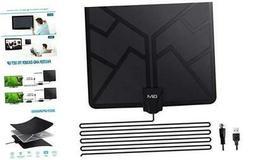 GIM TV Antenna Amplified HD Digital Indoor Antennas, 120 Br