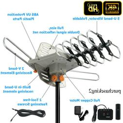 Leadzm 200miles TV Antenna Amplified Long Range Outdoor HD D