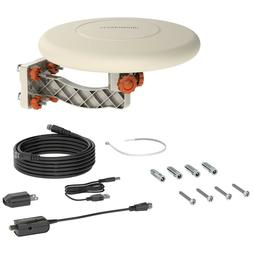 Leadzm TA-A1 150 Miles TV Antenna Indoor Outdoor Omni-direct