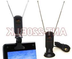 Mini Digital TV Antenna with Detachable Suction/Clip Mount F