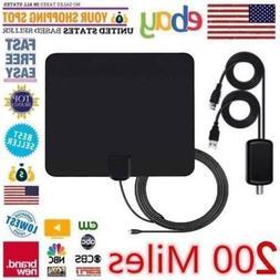 Multi MODEL 200 Miles 1080P 4K Antenna Digital HD TV Signal