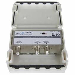 MyCableMart UHF / VHF Antenna Signal Combiner with F Connect