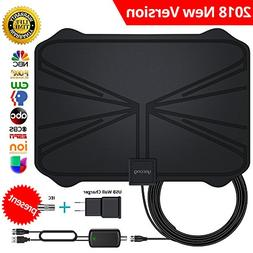 【Updated 2018 Version】 Professional TV Antenna-Indoor Di