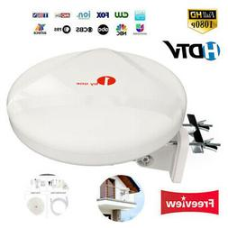 1Byone 60Miles TV Antenna Amplified Upgrade Omni Directional