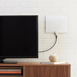 New NIB AmazonBasics Ultra Thin Flat HD Digital Indoor TV An