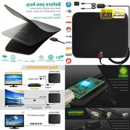 Newest 2019 Amplified HD Digital TV Antenna Long 60 120 Mile