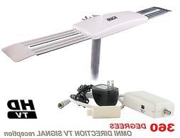 OMNI-DIRECTIONAL DIGITAL HD ANTENNA HDTV UHF DTV INDOOR OUTD