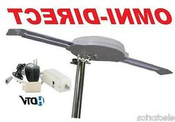 OMNI DIRECTIONAL DIGITAL HD TV ANTENNA HDTV UHF DTV INDOOR O