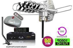 BoostWaves All in ONE Antenna & Digital Converter Box PVR Co