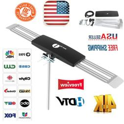 1Byone Outdoor 1080P HD TV Antenna 100M Digital Signal Ampli