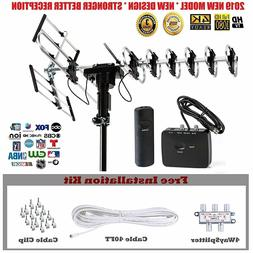 Outdoor HD TV Antenna 2019 Newest Model 200 Miles Advanced D